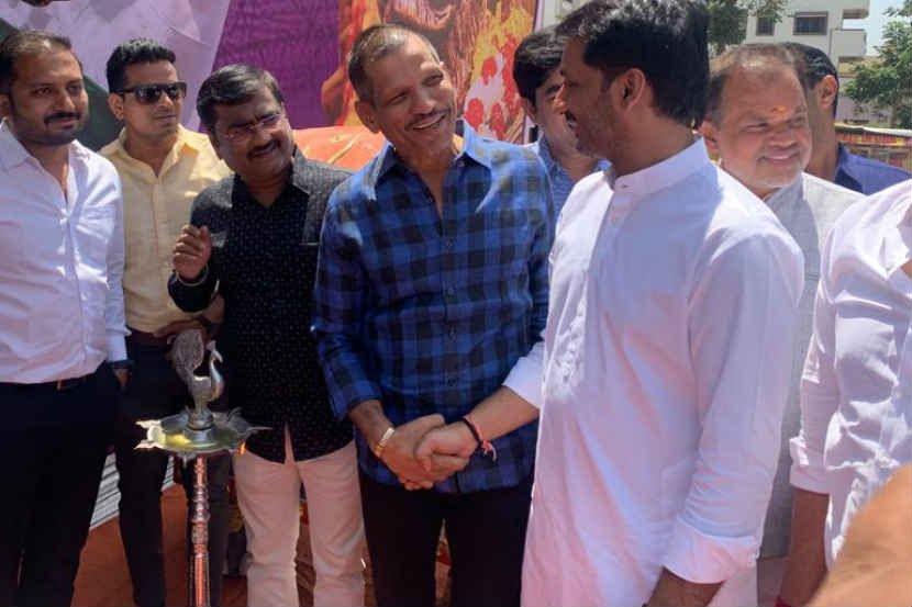 Jagtap and Parth meeting sets tongue wagging