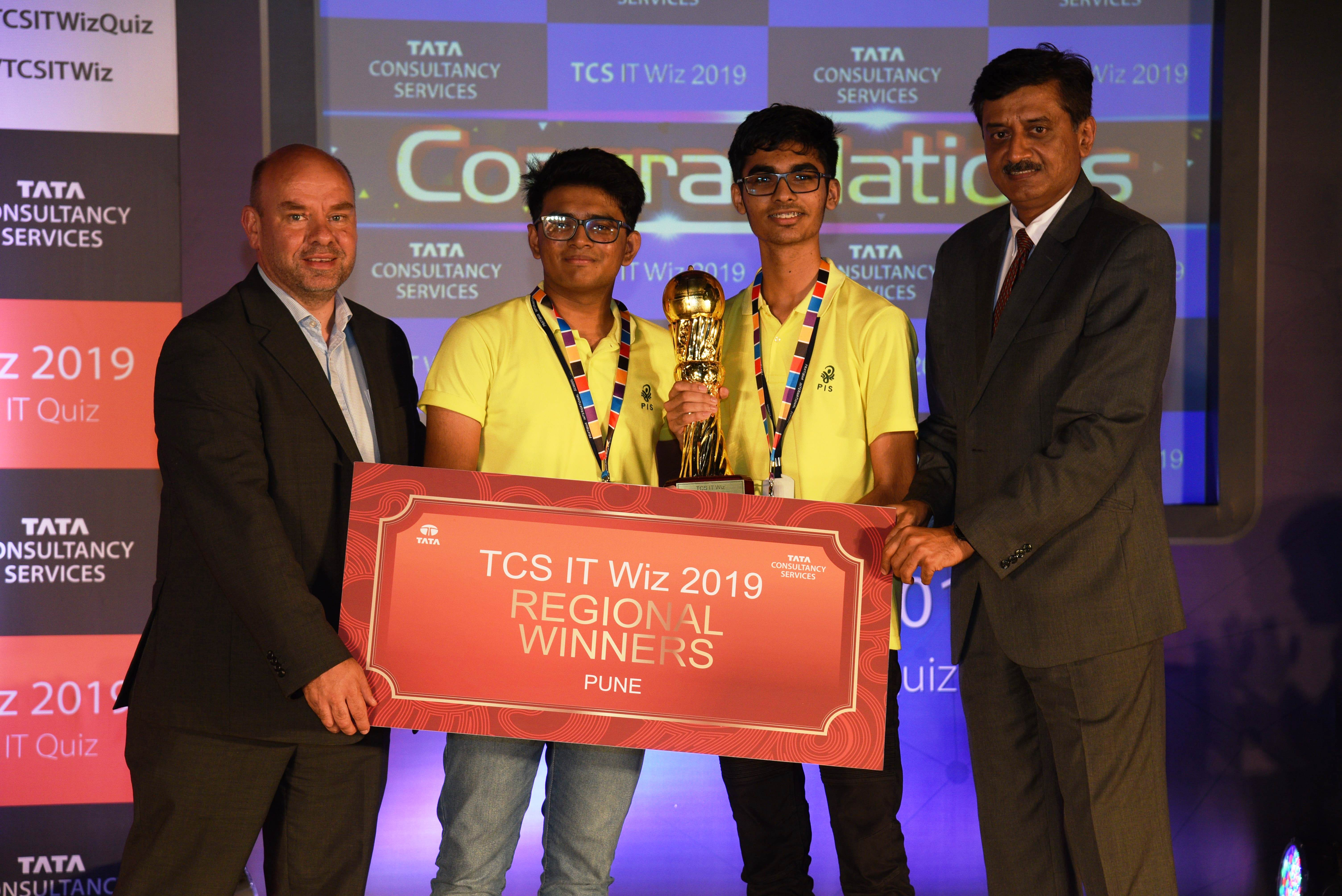 Pratibha International School Wins the Pune Edition of TCS IT Wiz 2019