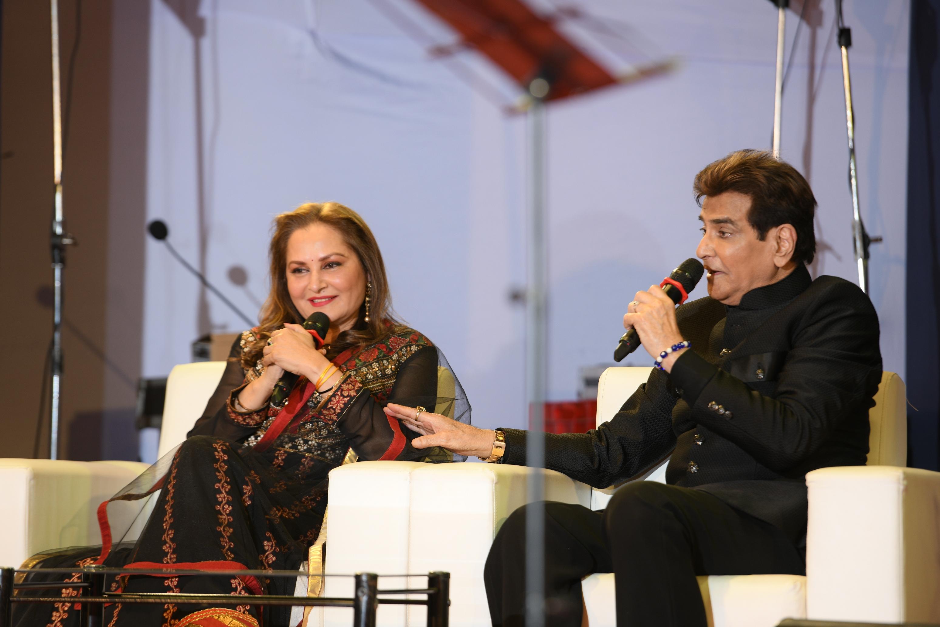 Jitendra and Jayaprada inaugurated Symbiosis Cultural Festival  today.