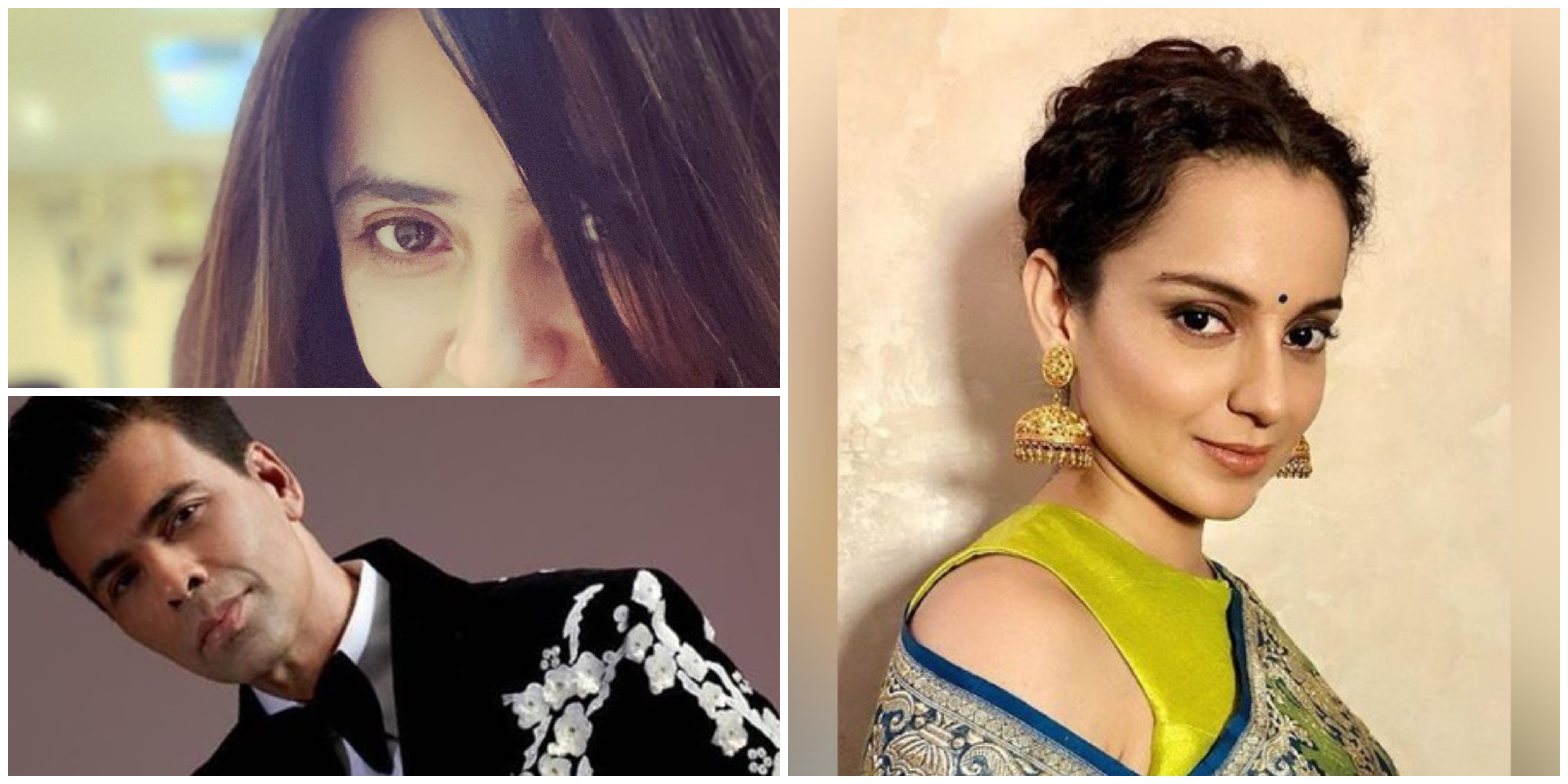 Kangana Ranaut, Ekta Kapoor, Adnan Sami and Karan Johar have been conferred with Padma Shri award.