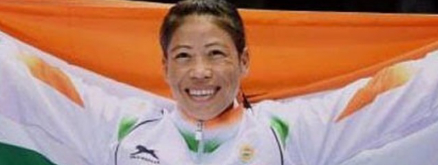 MC Mary Kom has been conferred with Padma Vibhushan award.