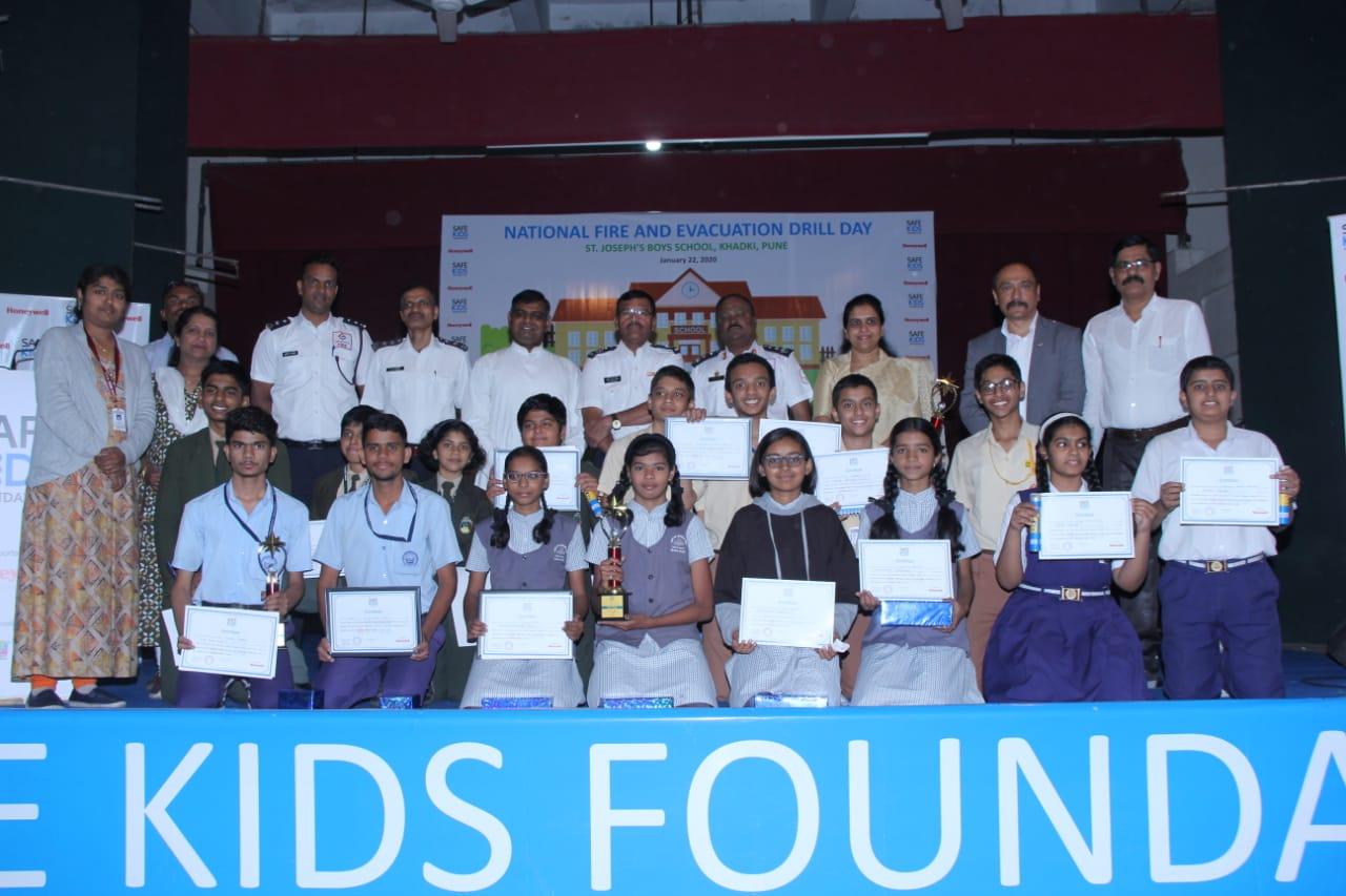 SVS school wins second prize