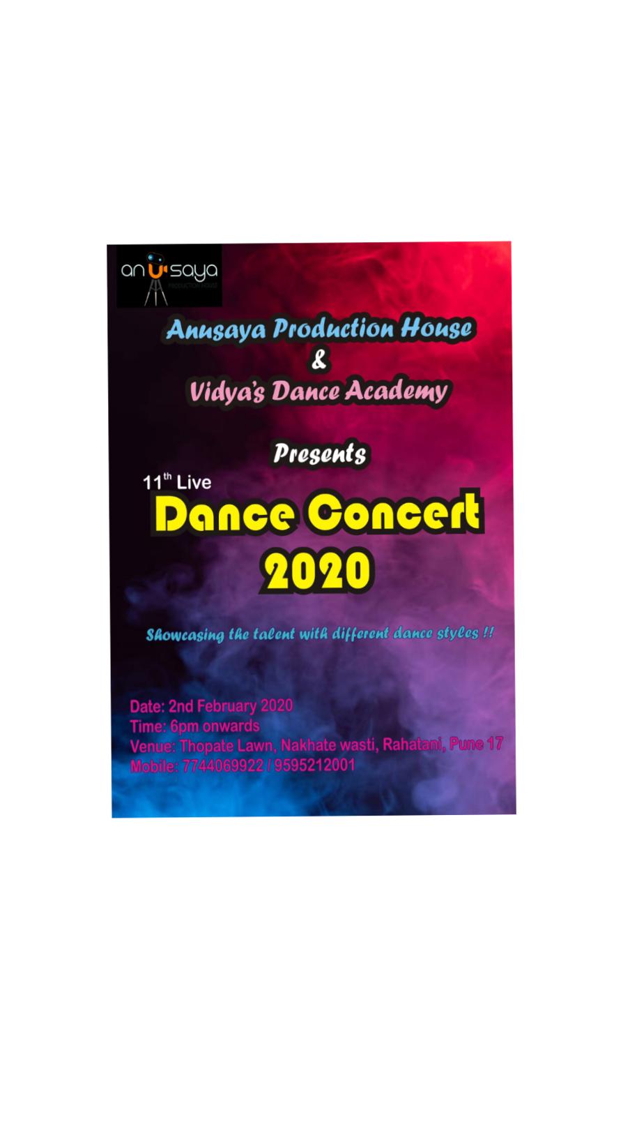 Dance concert in Rahatni Today