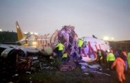 Three dead, 179 injured as plane skids off Istanbul airport runway, splits into three ...