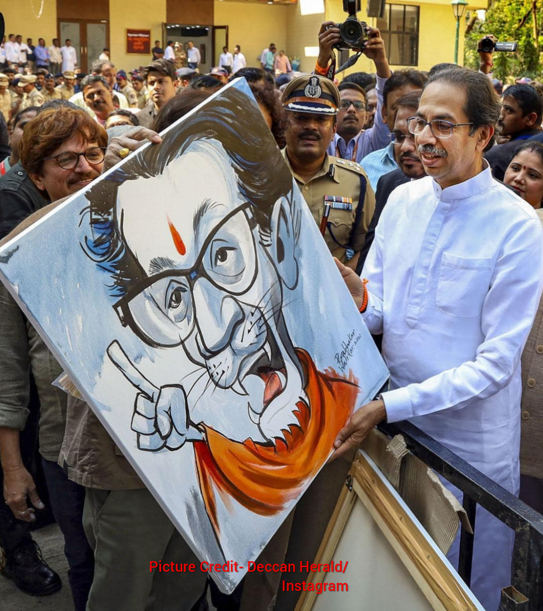 CM Uddhav Thackeray inaugurates the Balasaheb Thackeray Art in Thane ...