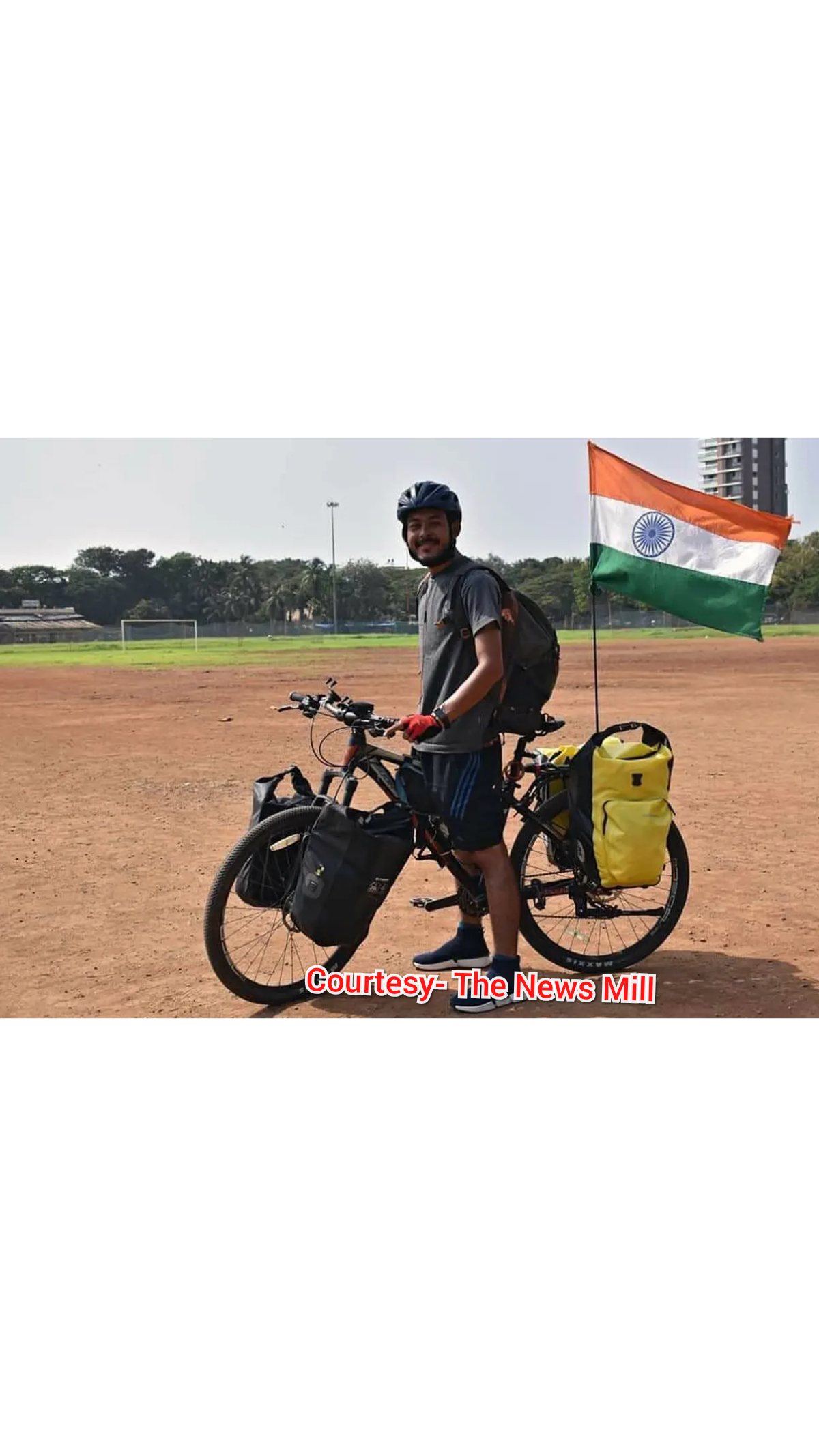 Manipur cyclist Rohan Philem Singh cycle from New Delhi to Tokyo