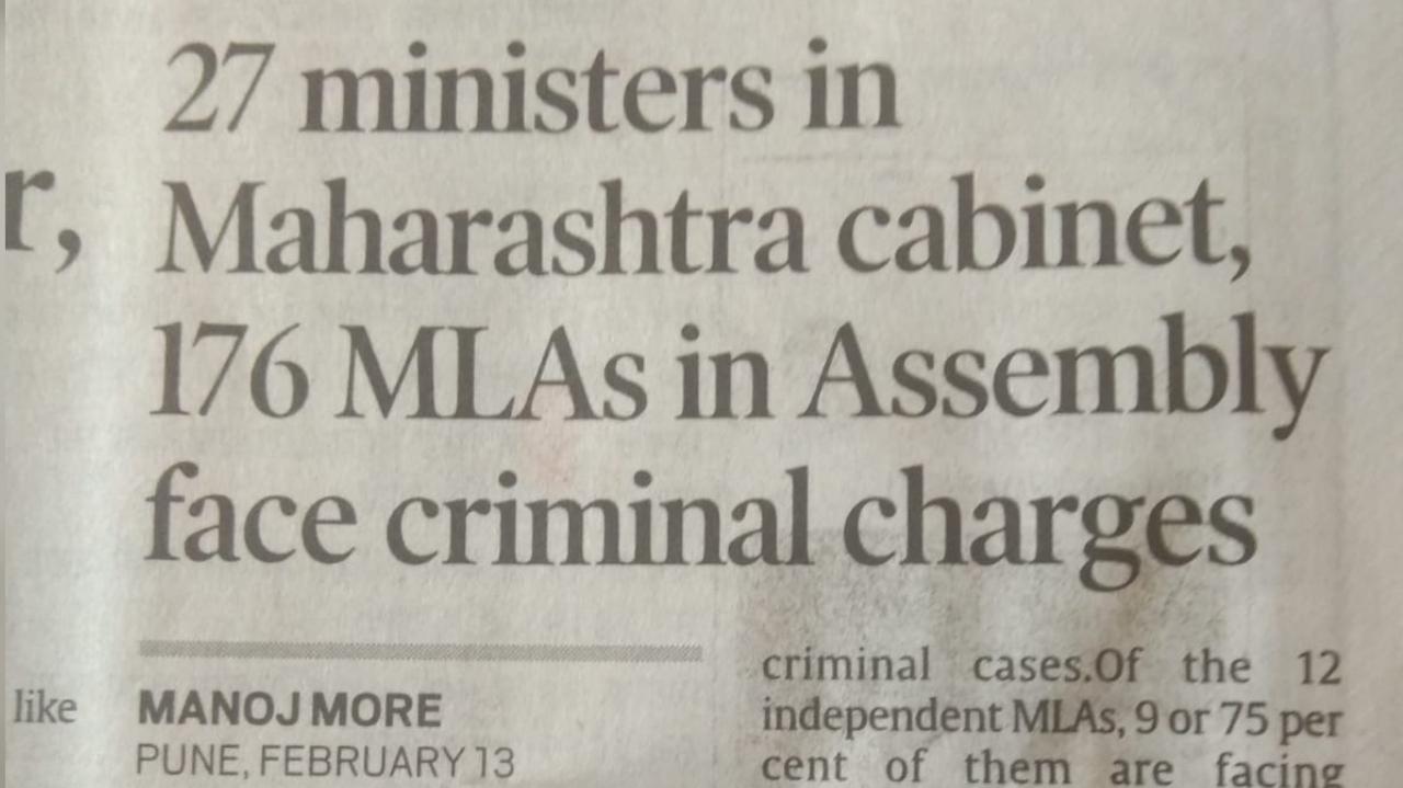 Maharashtra's Maha Vikas Aghadi will have to upload 27 ministers !