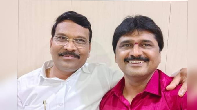 Corporator Namdev Dhake is BJP boss in PCMC general body meetings. Raju Durge is his best friend.
