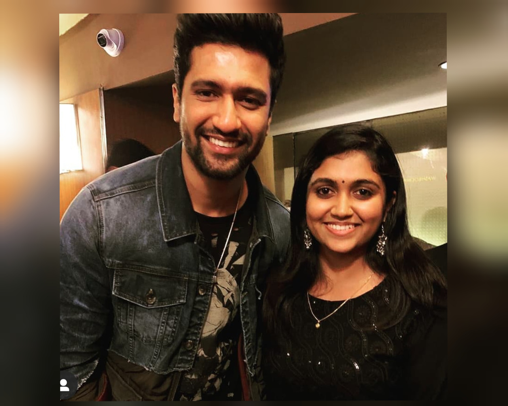 Rinku meets favourite actor Vicky Kaushal, sets tongue wagging...