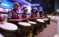 Performance by the children of The Poona School and Home For The Blind at International Festival of Spiritual India