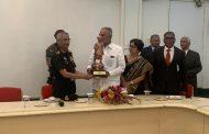 Felicitation of General Manoj Naravane, Chief of the Army Staff at Symbiosis .