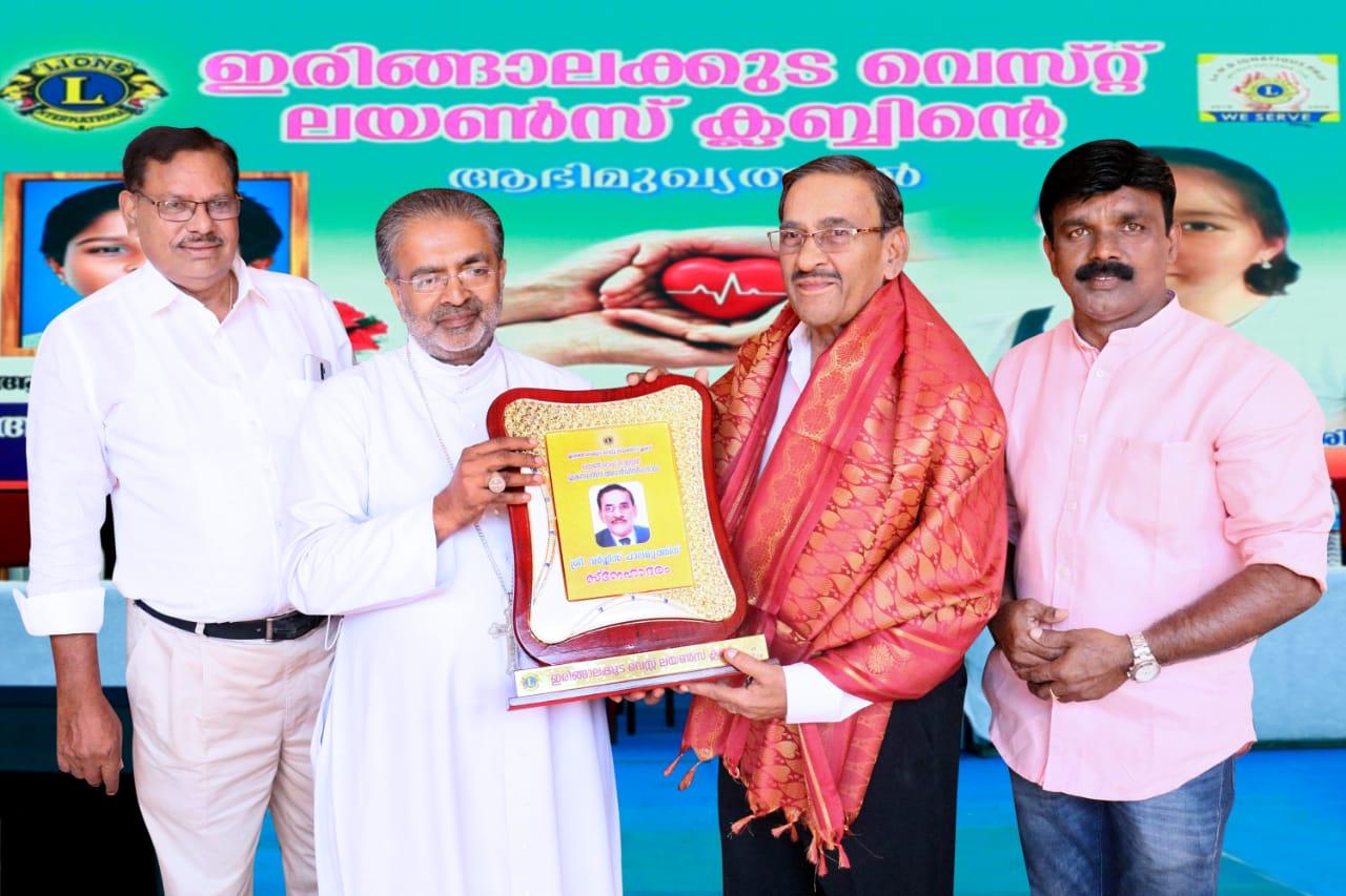 Suvarna Fibrotech boss P I Varghese honoured by Kerala government.