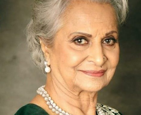 Waheeda Rehaman turns 82 today! Happy Birthday, Waheeda Rehaman!