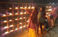 On the eve of PM Shri Narendra Modi's visit, citizens lightening thousands of earthen lamps across Kokrajhar city in celebration of the historic Bodo accord.