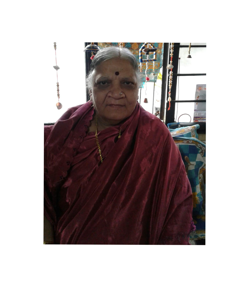 Prabhavati Shinolkar, one of the finest human beings of our Goyal Residency, Kasarwadi  dies at 64 . The funeral will be held at 11 a.m Bhosari crematorium…RIP Ajji