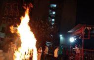 कासारवाडीतील गोयल सोसायटी मध्ये पारंपरिक होळी उत्सव साजरा... Ekach Number ! जेष्ठ नागरिकांसह बालचमू मोठ्या संख्येने उपस्थित होते