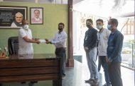 All Manipur Gorkha Student Union ( AMGSU) rushes forth, donate Rs 60,000 for CM Fund...