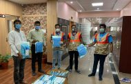 Victoria hospital doctors and staff get PPE's, as 42 COVID cases are reported