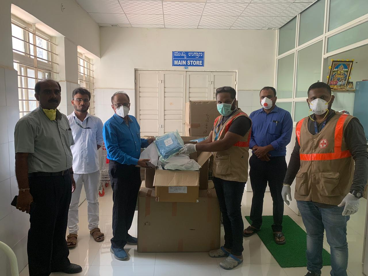 Epicentre of all hospitals RGICD recieves PPE kits