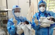 Covid Patient gives birth to Healthy Twins in Pune....