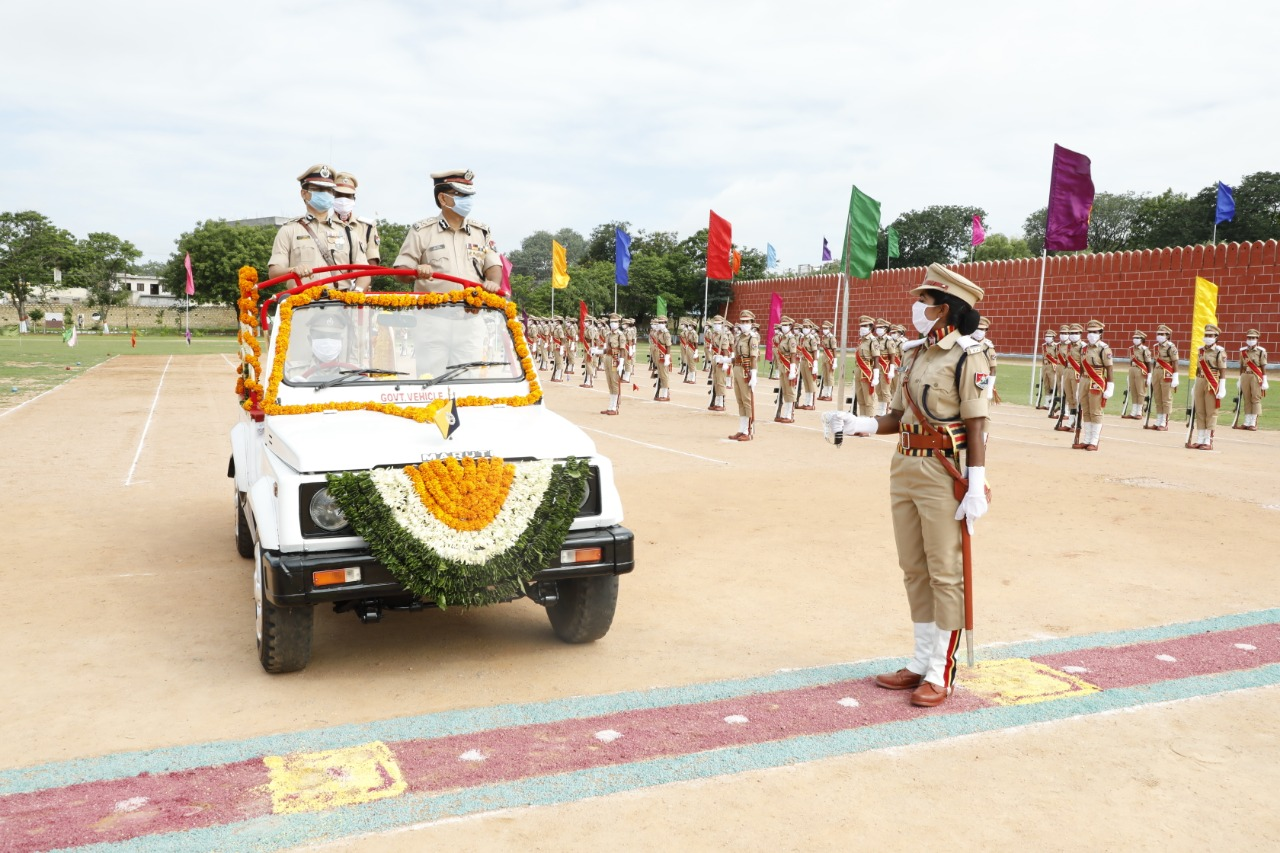 INDUCTION OF FIRST BATCH OF LADY SUB-INSPECTORS OF RAILWAY PROTECTION FORCE FOR SWR...