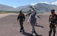 Prime Minister  Narendra Modi in Ladakh to meet our jawans...