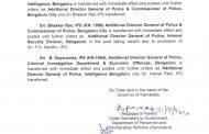 Karnataka: Senior IPS officer Kamal Pant  is the new Bengaluru Police Commissioner...