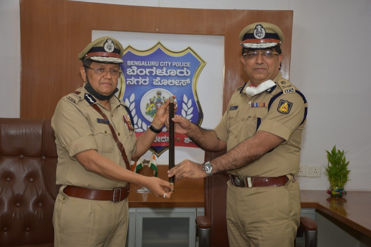 Kamal Pant takes charge as new Bengaluru City Police Commissioner...