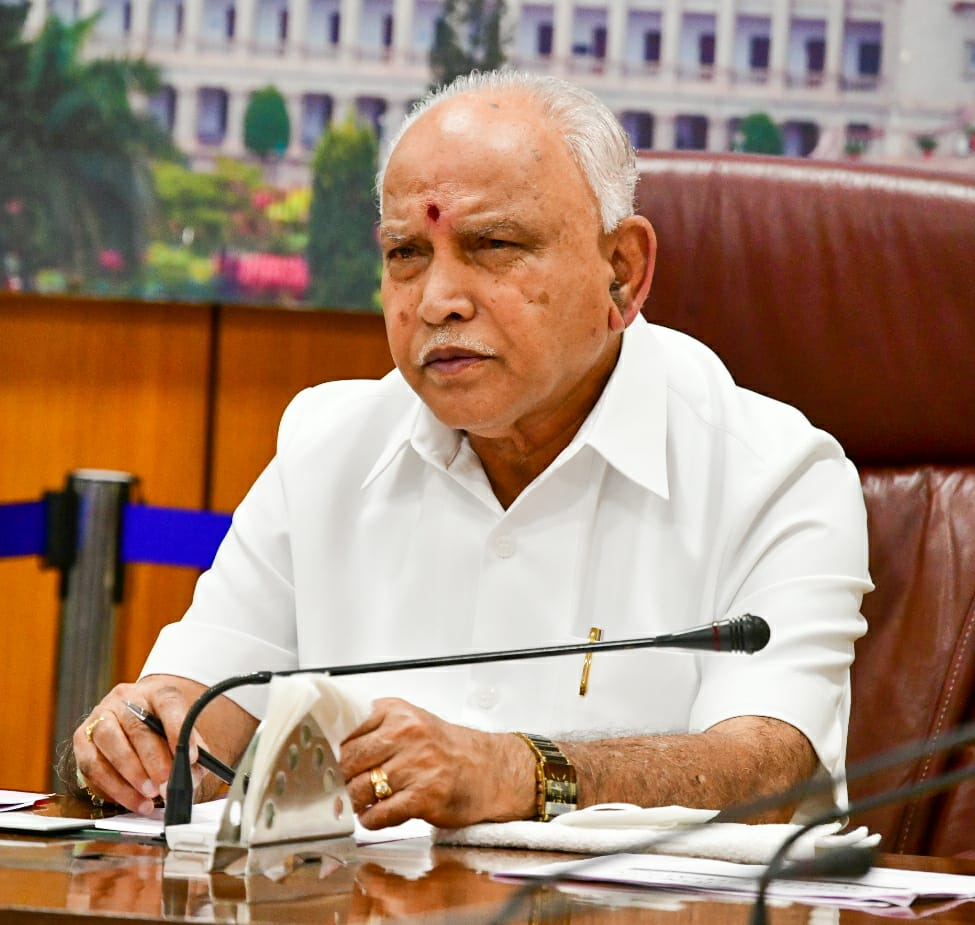 Karnataka CM B.S Yediyurappa Tests Positive for Covid -19