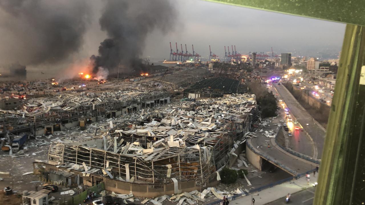 Beirut Blast: At least 70 people killed , around 4000 injured