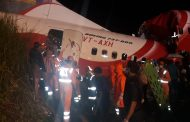 Rescue operation by NDRF at the crash site in Kozhikode...