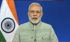PM Narendra Modi launches submarine Optical Fibre Cable connecting Chennai and Port Blair to boost remote broadbandconnectivity.