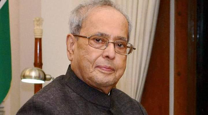 Former President Pranab Mukherjee on ventilator support...