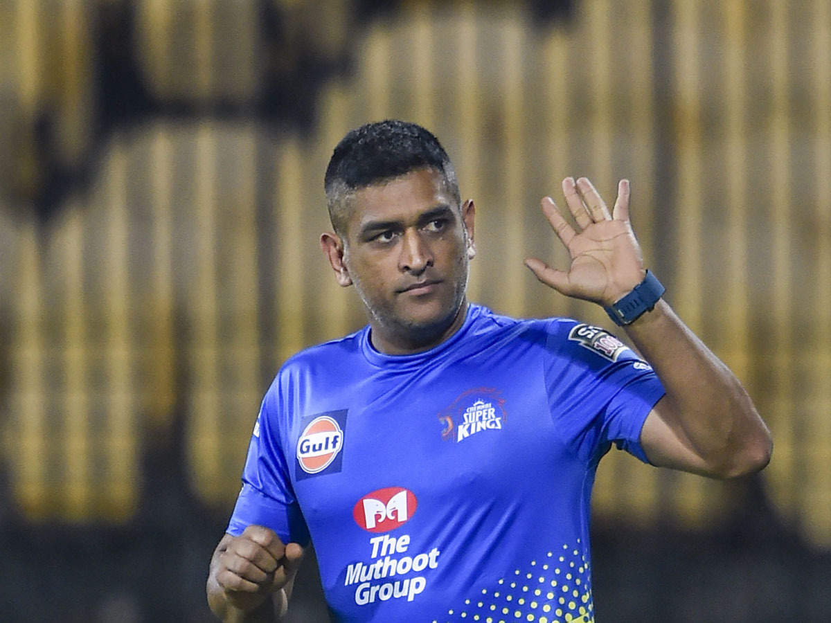 Former India captain MS Dhoni announces retirement from international cricket...