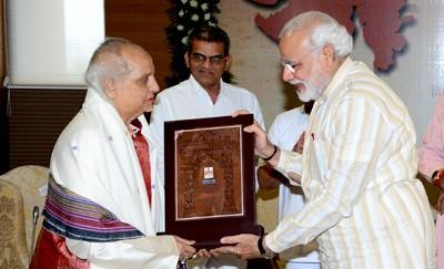 PM Modi : The unfortunate demise of Pandit Jasraj Ji leaves a deep void in the Indian cultural sphere. Not only were his renditions outstanding, he also made a mark as an exceptional mentor to several other vocalists. Condolences to his family and admirers worldwide. Om Shanti.