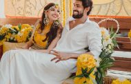 Picture from Rana Daggubati and Miheeka Bajaj's Haldi Ceremony...