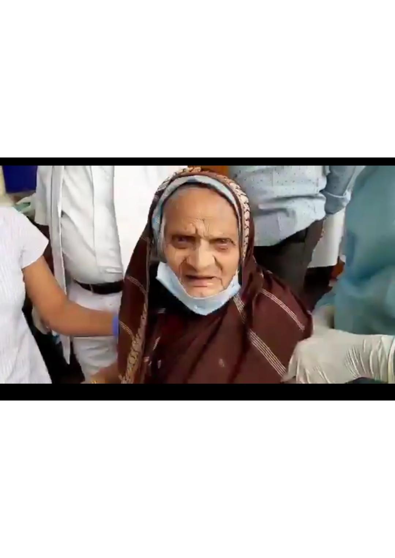 Karnataka: 110 year old defeats Covid-19...