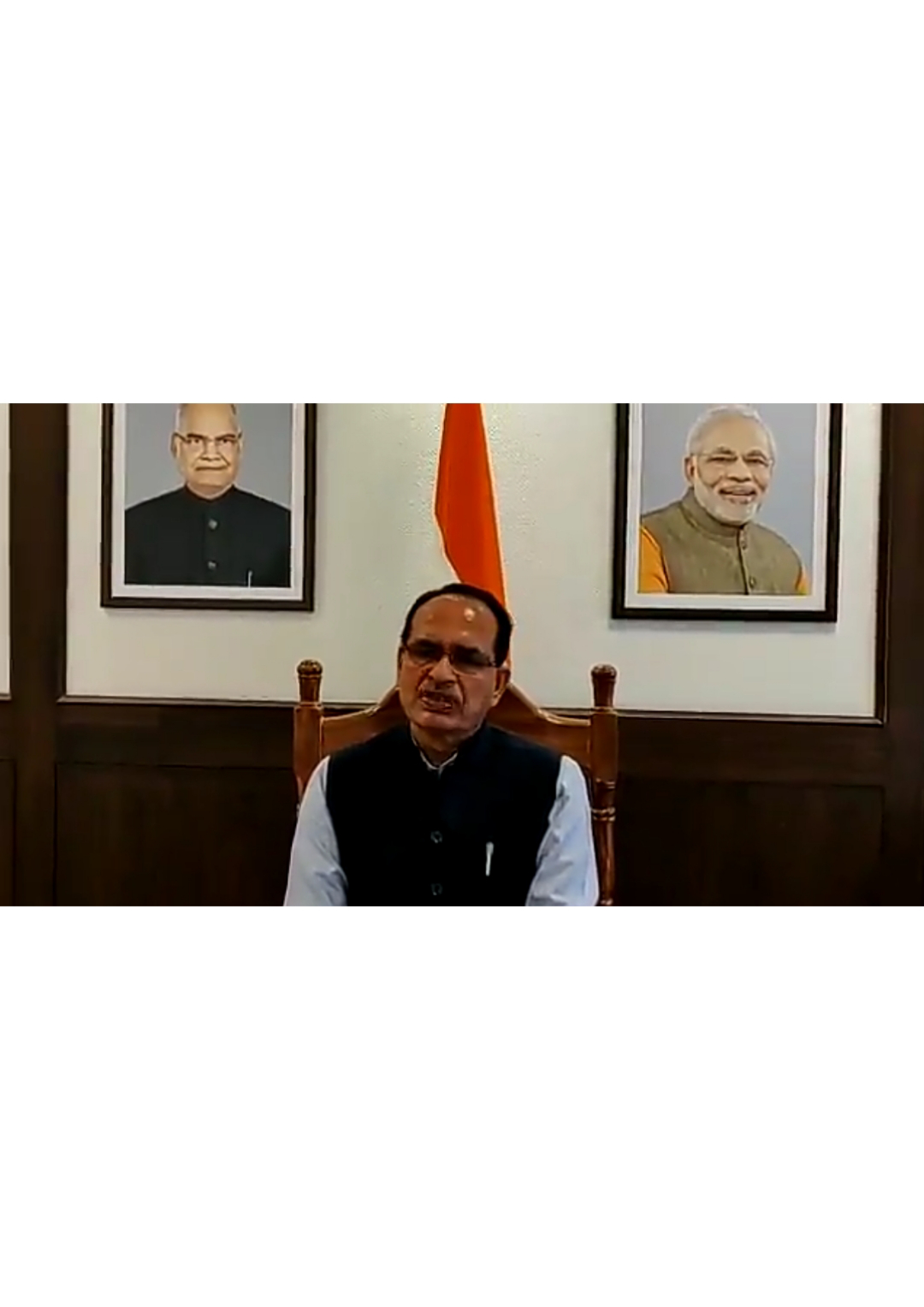 Watch: Madhya Pradesh CM Shivraj Chouhan announces that jobs in MP Govt to be exclusively for people from MP only.