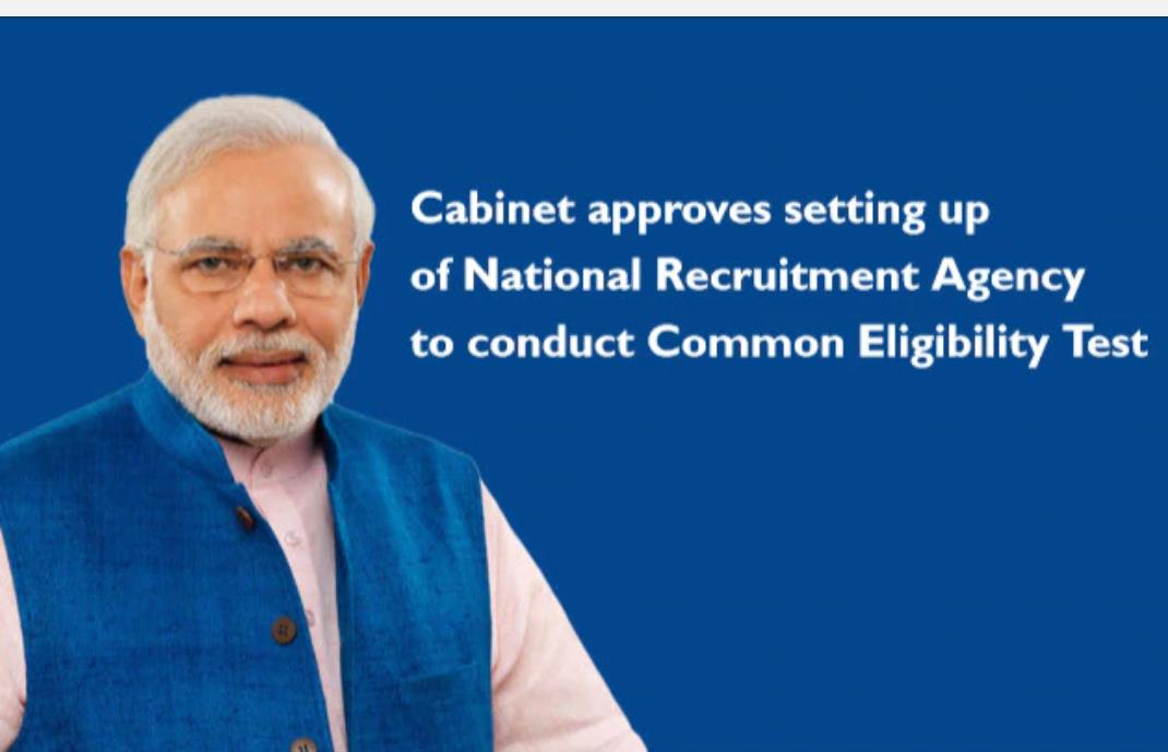 The National Recruitment Agency will prove to be a boon for crores of youngsters. Through the Common Eligibility Test, it will eliminate multiple tests and save precious time as well as resources. This will also be a big boost to transparency : PM Modi...