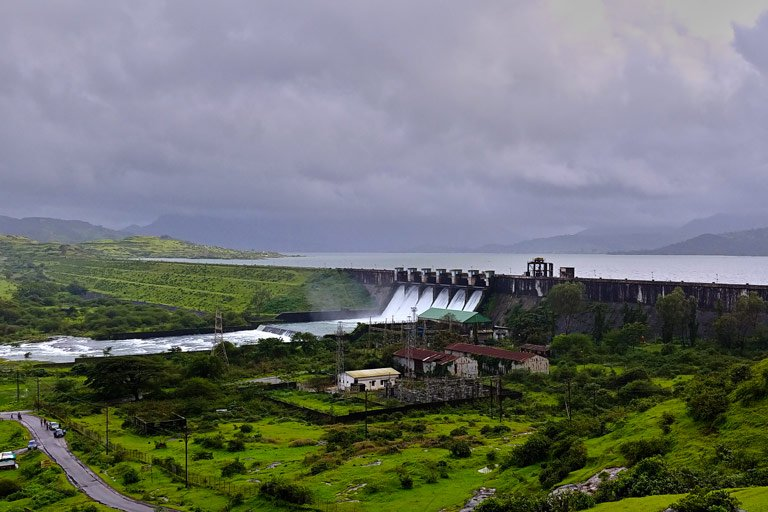 Pavana Dam is 73.72% full ...