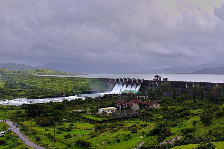Pavana Dam is 73.72% full ...