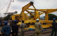 At least 10 persons were crushed to death as crane collapsed at Hindustan Shipyard Limited at Visakhapatnam.