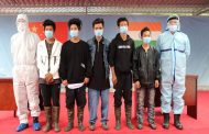 FIVE ARUNACHAL YOUTH RETURN HOME SAFELY...