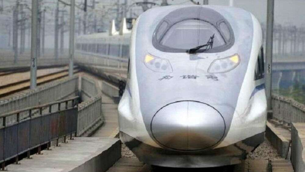 Thane no to bullet train...