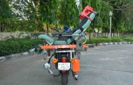 DRDO hands over Motor Bike Ambulance 'Rakshita' to CRPF...
