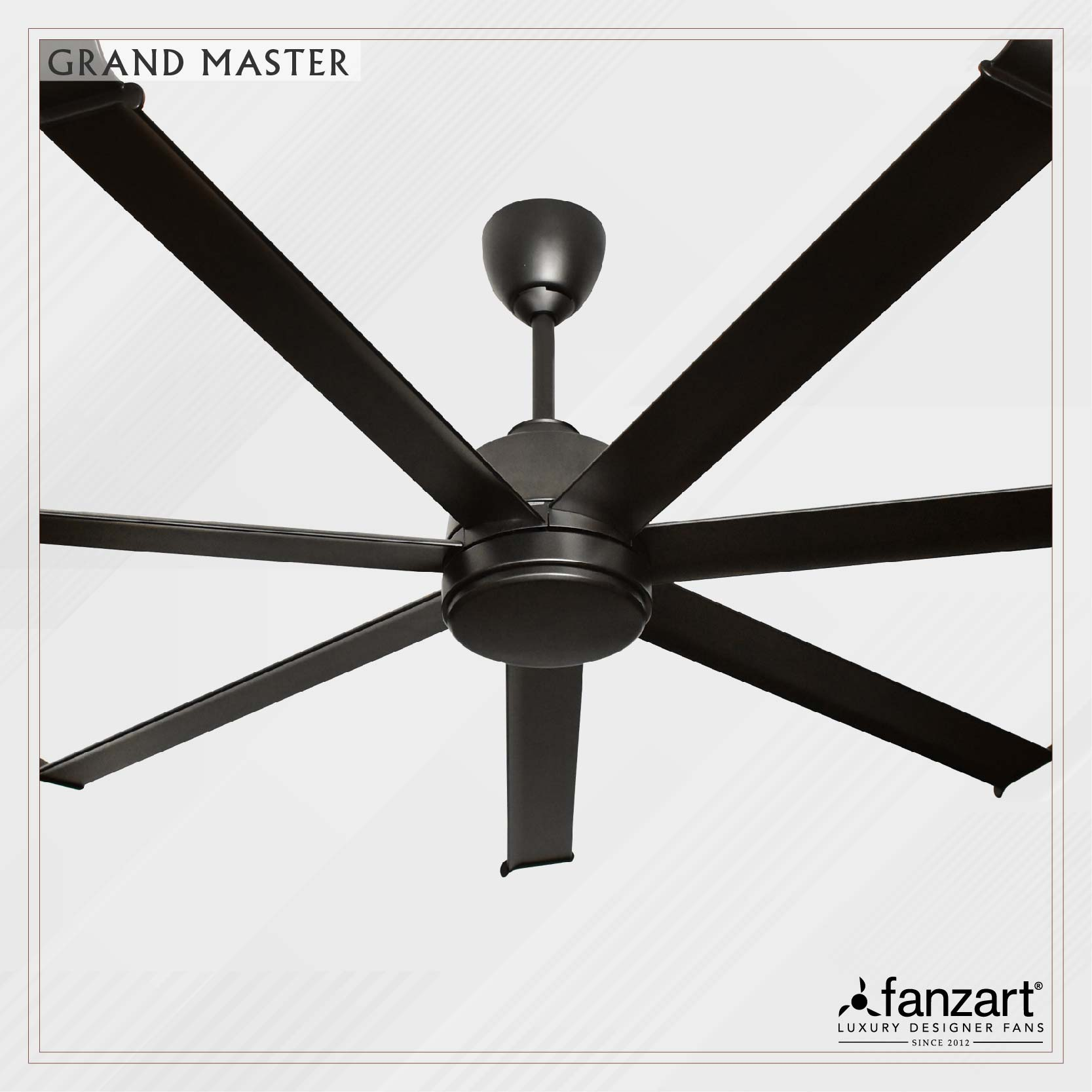 """Fanzart launches """"Grandmaster""""- new age long blade fans for Commercial and Hospitality sector"""