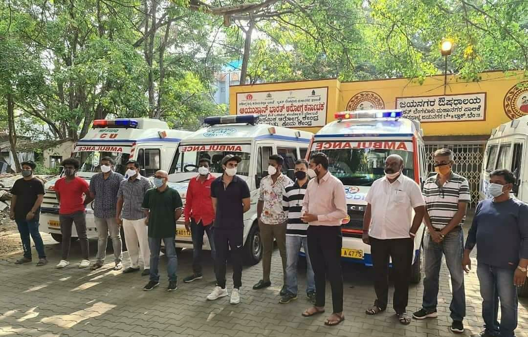 From Oxygen enabled ambulances and Vaccination drives to ration kits, how a Bengaluru-based NGO's are helping people survive