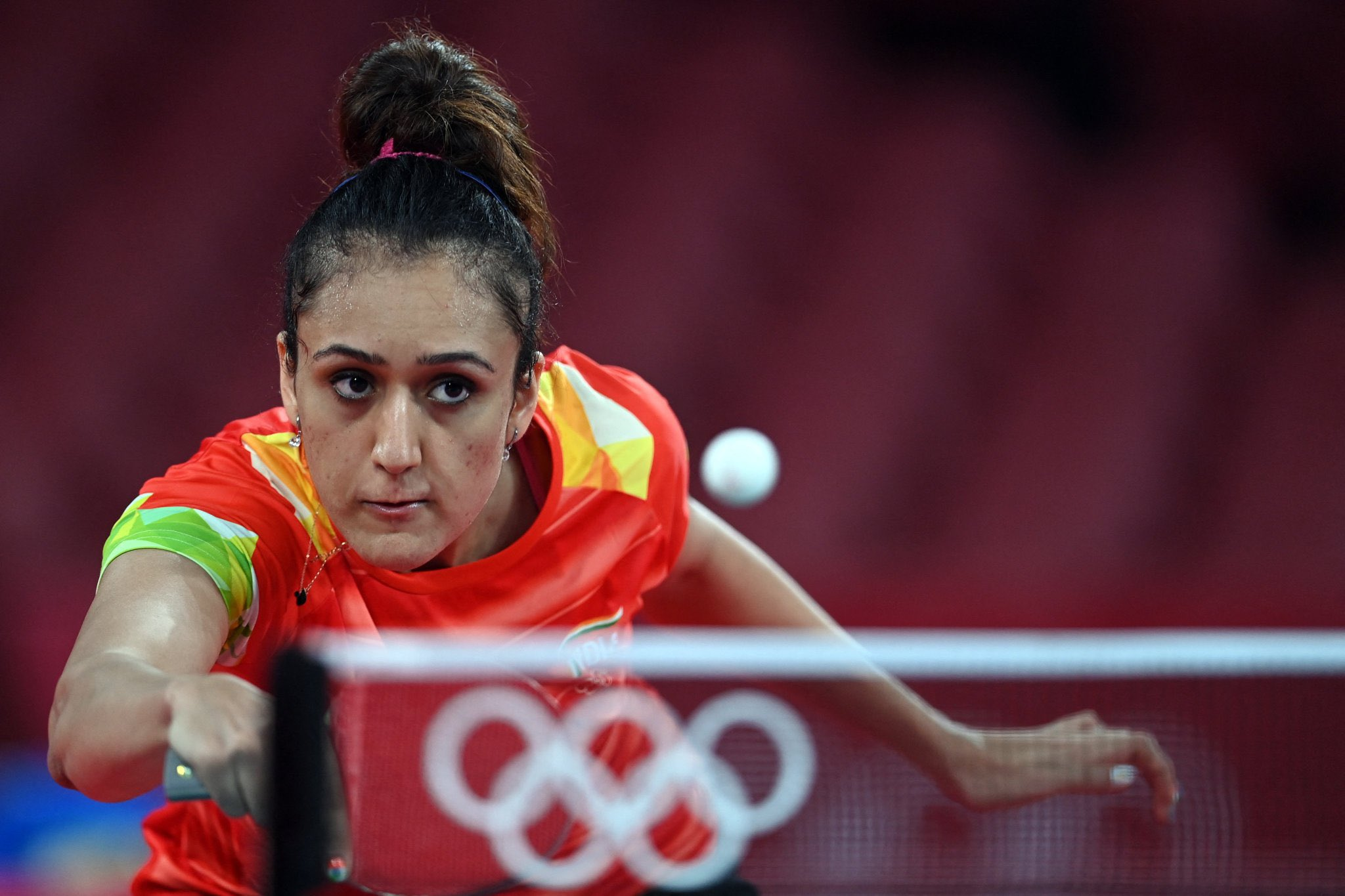 A super performance filled with grit and determination from our star paddler Manika Batra . Manika is just one more step away from medal.   Scoreline: 🇮🇳4 - 3 Courtesy- Manika Batra/Twitter