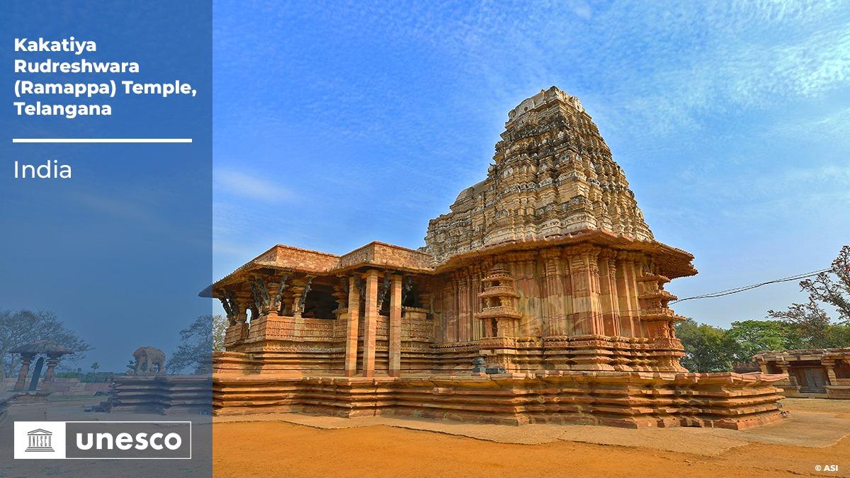 Telangana's Ramappa Temple becomes  Unesco world heritage site