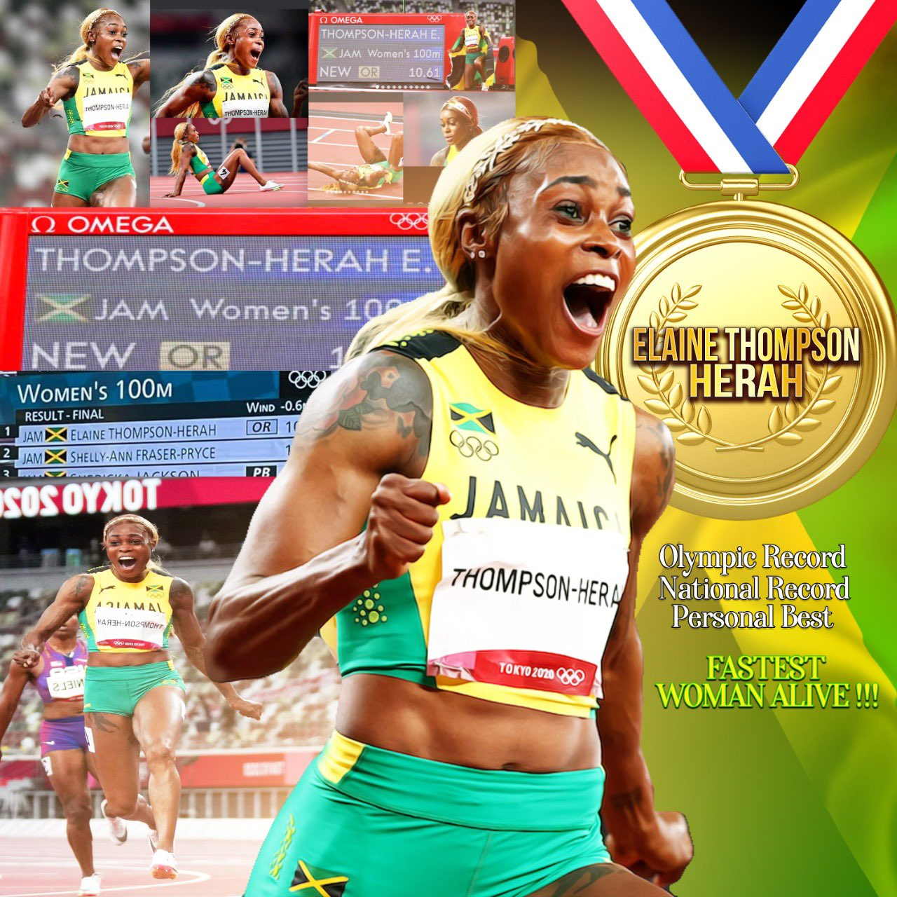 Just a lil girl from BANANA GROUND who liked to run. Believe In your dreams work hard and have faith in God…ETH